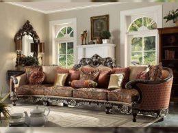 Sofa Tamu Jumbo Klasik Jati