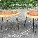 Industrial Suar Coffe Table