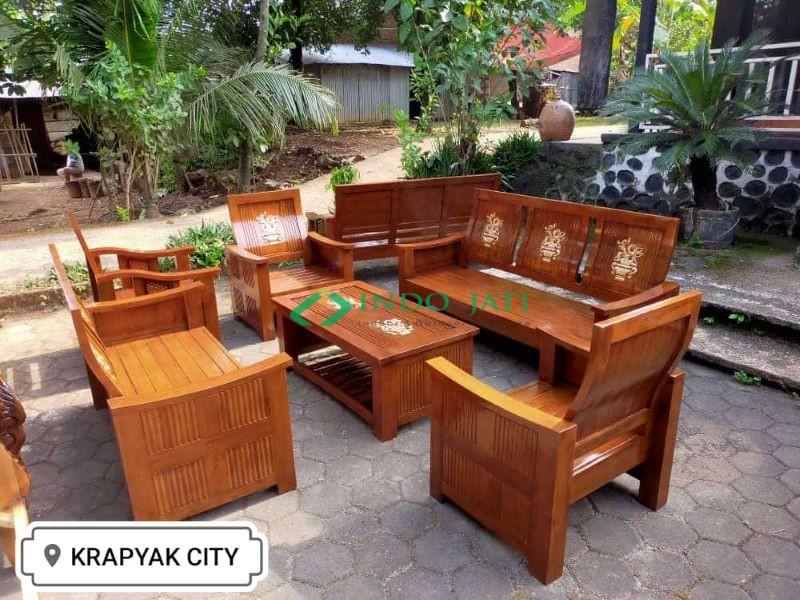 Kursi Tamu Jati Minimalis Jakarta