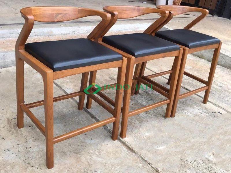 Teak Bar Chairs With Cushions