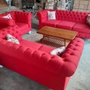 Sofa Tamu Mewah Chesterfield