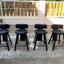Kursi Bar Black Mewah Terbaru